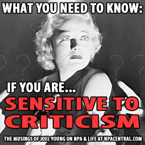 What You Need To Know If You Are Sensitive To Criticism