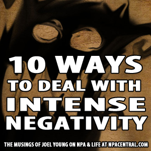 10 Ways To Deal With Intense Negativity