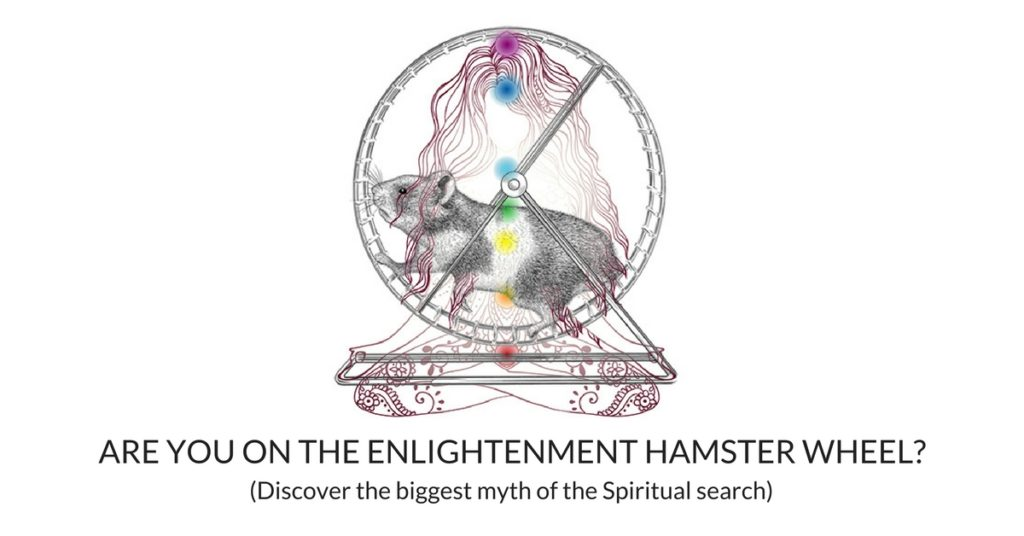 Enlightenment Hampster Wheel